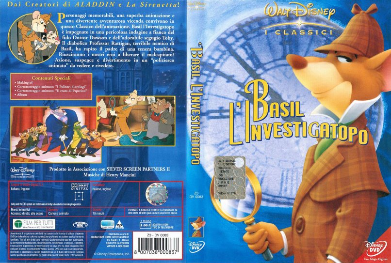 Cover dvd cartoni animati walt disney winny puh tutti per